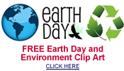 free Earth Day and environmental clip art
