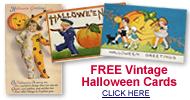 free vintage Halloween postcards