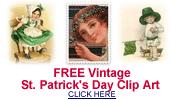 free vintage St. Patrick's Day clip art