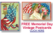 free Memorial Day postcards