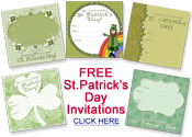 free St.Patrick's Day party invitations
