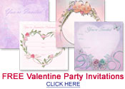 free valentine party invitations