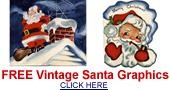 free vintage Santa graphics