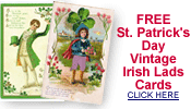 free vintage St. Patrick's Day Irish lads cards