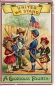 july-4th-American-flag-children-drum