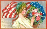 vintage-American-flag-Lady-Liberty
