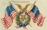 vintage-double-American-flags-eagle