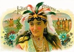 Indian-Princess-cigar-label