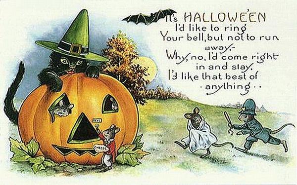 halloween clip art vintage - photo #12
