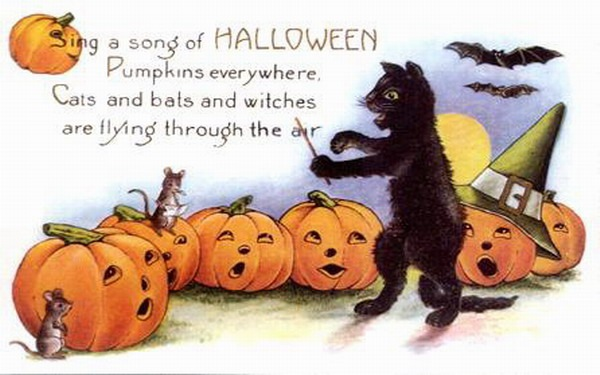 halloween songs witches riding high
