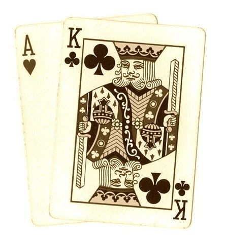Free Clip Art from Vintage Holiday Crafts » Poker and Playing Cards