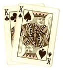 poker-hands-playing-cards-pocket-kings-sepia-tone-clipart