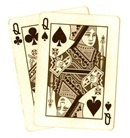 poker-hands-playing-cards-pocket-queens-sepia-tone-clipart
