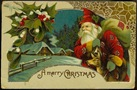 victorian-santa-claus-house-snow-holly-Christmas-card
