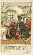 Victorian-vintage-Thanksgiving-postcard
