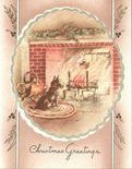 vintage-Christmas-card-Scotty-dog