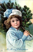 vintage-girl-merry-christmas-tree