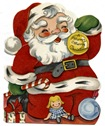 vintage-Santa-doll-ornament-vintage-childs-Christmas-card