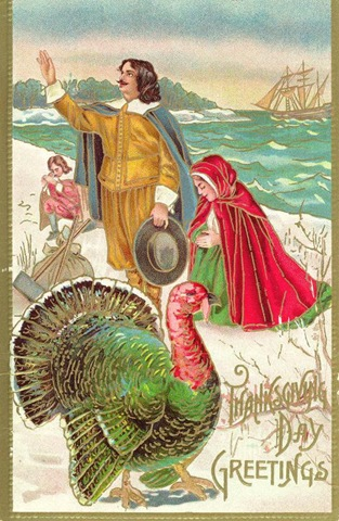 Free Clip Art from Vintage Holiday Crafts » Thanksgiving