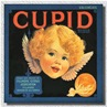 vintage product labels fruit crates Cupid Fillmore Citrus Association