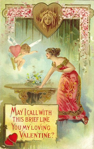 vintage valentine cards free download