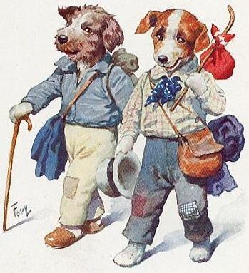 Free Vintage Dog Clip Art