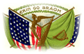 free vintage St Patricks Day erin go bragh flags