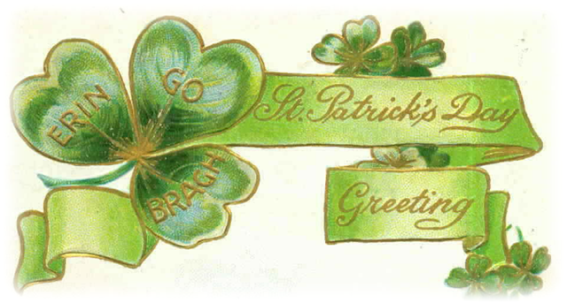 st patrick day clipart. Free Vintage St Patrick#39;s Day