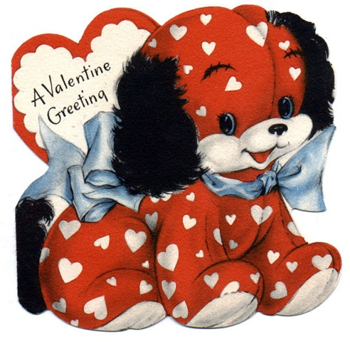 Free Clip Art from Vintage Holiday Crafts Valentines Day – Vintage Valentines Card