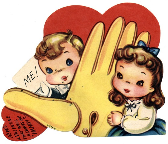 Free Clip Art from Vintage Holiday Crafts Blog Archive Free – Images of Vintage Valentine Cards