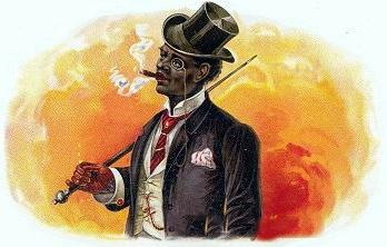 Cigar Smoking Clip Art