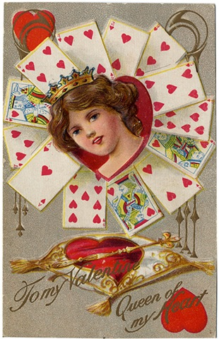 queen of hearts free valentines day clip art