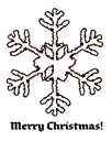 Snowflake 2 coloring page