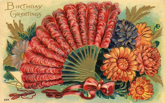 Free Clip Art from Vintage Holiday Crafts Blog Archive Free – Vintage Birthday Cards