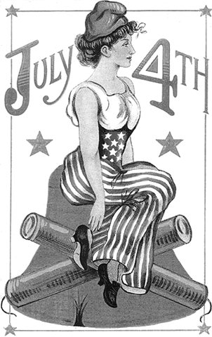 fireworks clipart black and white. 4th of July Black and White