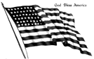 vintage-patriotic-American-flag-God-bless-America-clip-art