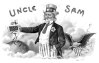 vintage Uncle Sam patriotic clip art