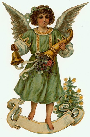 Free Vintage Angels and Cherubs Clip Art