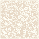 Floral white and brown free scrapbook paper