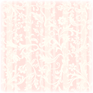 Floral white and pink striped vintage wedding scrapbook paper