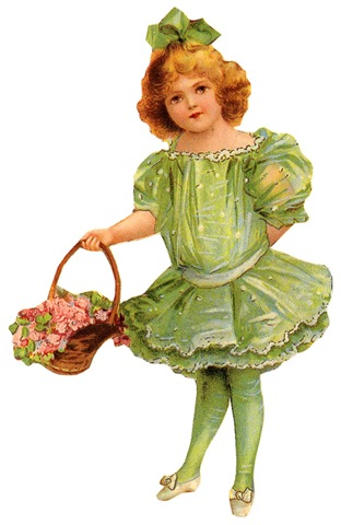 http://vintageholidaycrafts.com/wp-content/uploads/2009/04/free-vintage-children-clip-art-green-dress-and-bow-flower-basket.jpg
