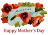 free vintage mothers day clip art memories and red peonies