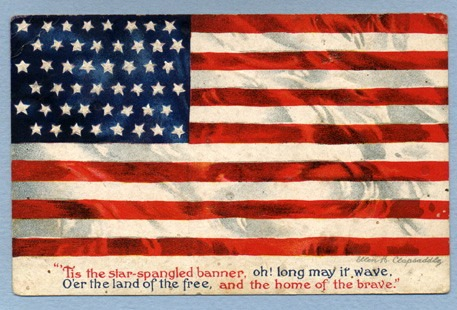 vintage american flag star spangled banner3 The American Flag