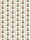 vintage flowers scrapbook paper pink roses and stripes