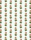 vintage flowers scrapbook paper pink roses