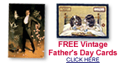 free vintage Father's Day cards