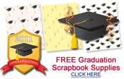free graduation scrapbook papers and embellishments