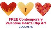 free valentine hearts clip art