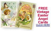 free vintage Easter angel cards