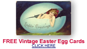free vintage Easter egg cards